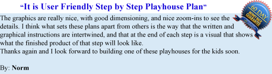 Plans For Playhouse 17