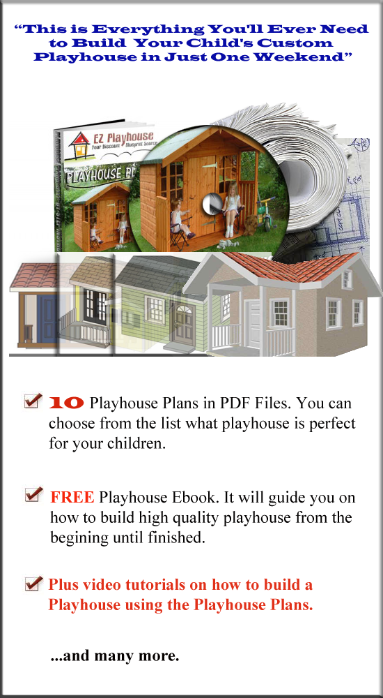 Plans For Playhouse 2